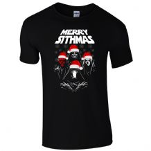 Merry Sithmas T-Shirt Queen Star Wars Sith Darth Vader Kylo Christmas Mens Gift